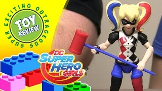DC Super Hero Girls Harley Quinn action figure - Toy Review(Our review of the DC Super Hero Girls Harley Quinn action figure. Harley Quinn comes with a mallet accessory and is dressed in a very trendy outfit for attending ..., 2016-05-20T19:00:01.000Z)