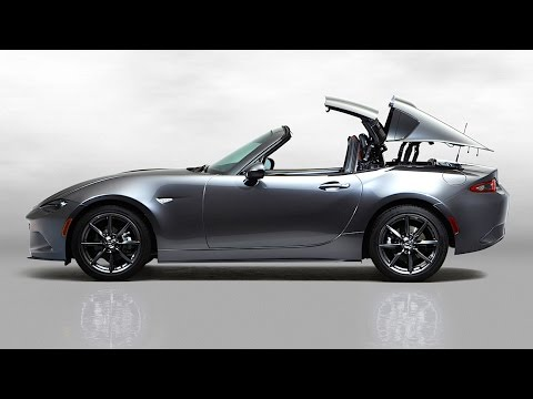 Mazda Miata Convertible or Targa Roof? 2017 Mazda MX-5 RF TECH REVIEW (1 of 3) - YouTube