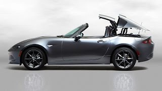 Mazda Miata Convertible or Targa Roof? 2017 Mazda MX-5 RF TECH REVIEW (1 of 3)