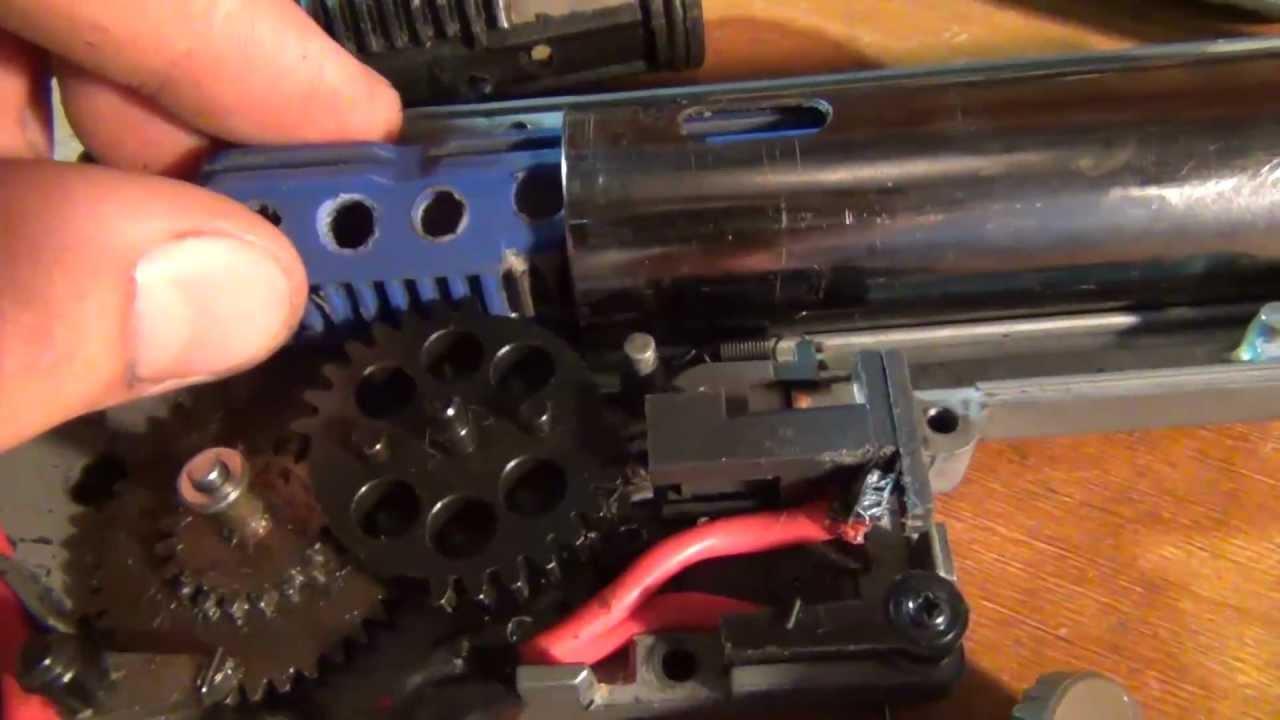 Shs R85 Gear Set L85 Airsoft CNC engrenages métal airsoft noir CL0071
