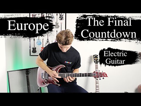 The Final Countdown - Europe - Electric Guitar Cover