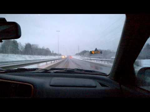 Driving From Lappeenranta Towards Imatra, Finland