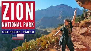 Zion: America's Best National Park? | First VANLIFE Experience USA | Brits in America Part 8