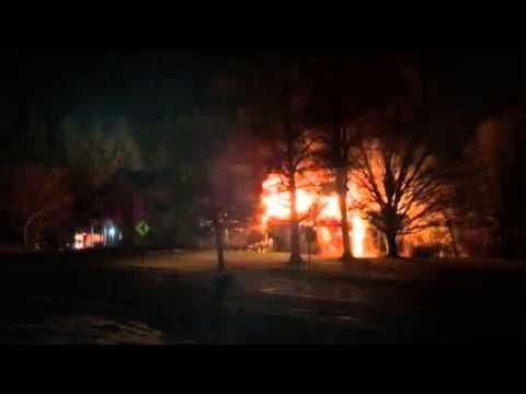 Schuylerville barn fire