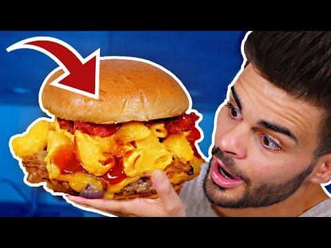 CECI EST LE MEILLEUR BURGER DU MONDE (Mac&Cheese Burger)