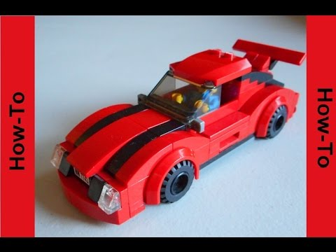 how to build a lego sports car youtube. Black Bedroom Furniture Sets. Home Design Ideas