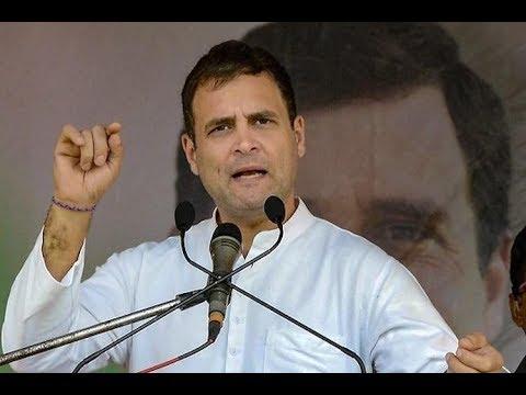 Rahul Gandhi Addresses a Rally in Kushinagar, Uttar Pradesh
