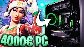 Mein 4000€ FORTNITE PC mit *NEUSTER* GRAFIKKARTE! 🔥