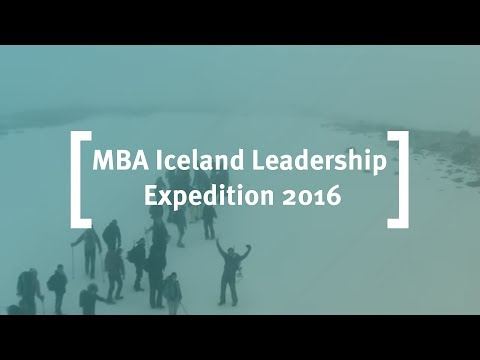 Cass Business School: MBA Iceland Leadership Expedition in Iceland 2016
