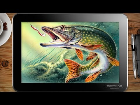 Играем Fantastic Fishing на планшетах с cpu Z3735 и  Z3736 и новых z8300 tablet gameplay test