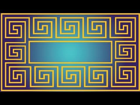 How To Create A Greek Meander Pattern - Adobe Illustrator Tutorial