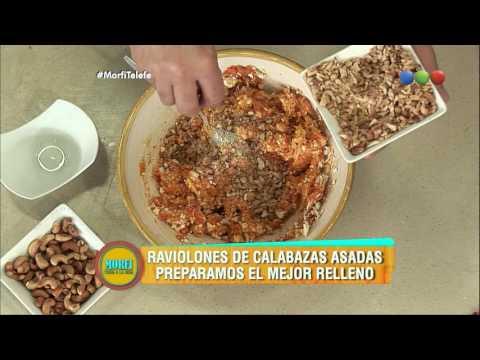 Receta: Raviolones de calabazas asadas - Morfi