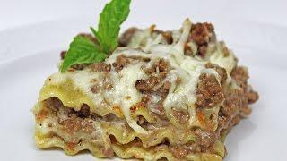 Lasagna Recipe  Beef & Cheese Lasagna