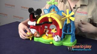 Mickey Mouse Clubhouse Barnyard Dance Farm Playset from Fisher-Price