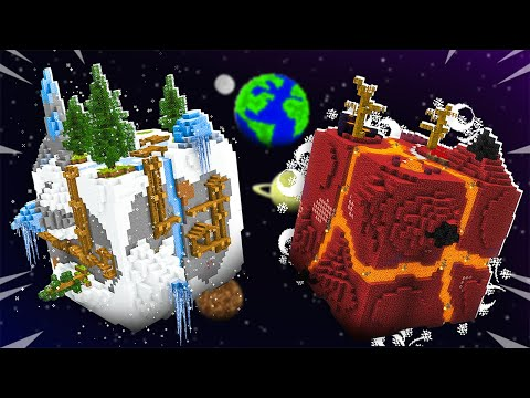 FINDING ICE & FIRE MINECRAFT PLANETS!