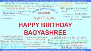 Bagyashree   Languages Idiomas - Happy Birthday