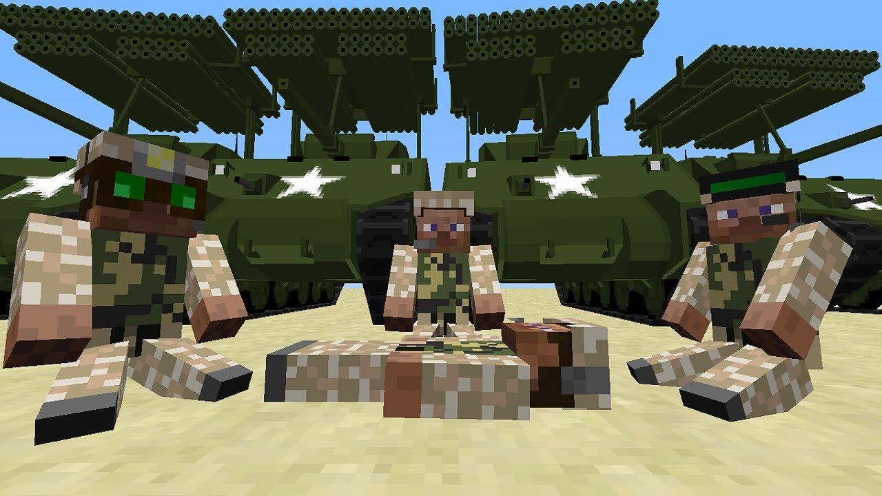 майнкрафт скачать мод на 2 мировую войну #10