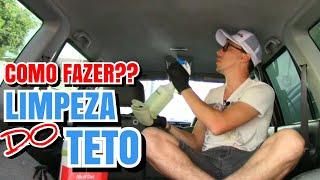 Como Limpar o teto do seu carro