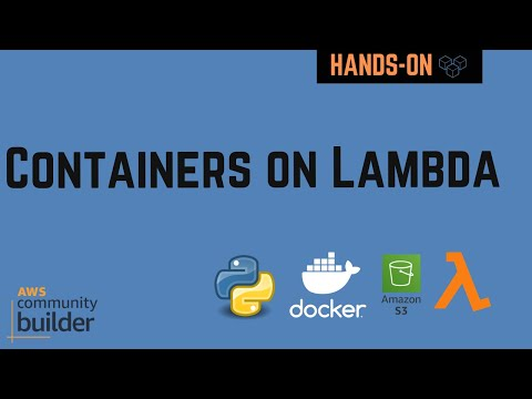 Serverless Containers on Lambda example using ECR, EventBridge, S3 | AWS Primer | Tech Primers