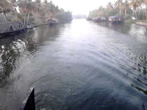 Alleppey or Alappuzha (ആലപ്പുഴ) Houseboat Travel Kerala Part-3