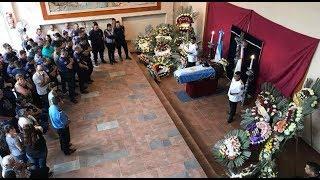 El último adios a Franco Ferraro, el policía abatido en el tiroteo de Nueva Córdoba