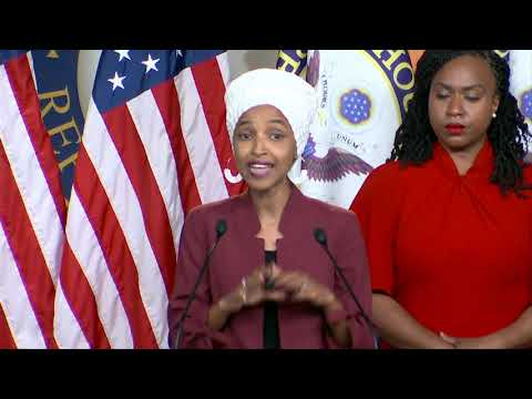 WATCH: Rep. Ilhan Omar calls for Trump's impeachment after his racist tweets