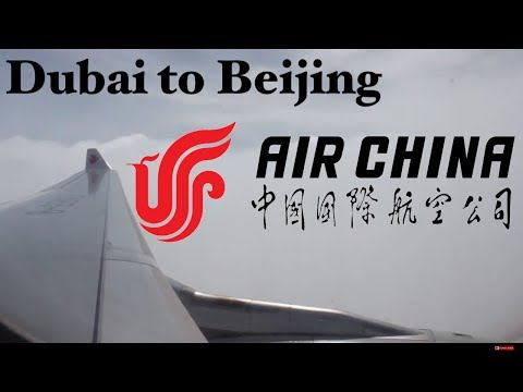 Trip Report: Air China A330 economy class from Dubai to Beijing full flight. DXB-PEK