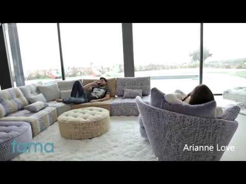 Arianne Love - Sofá modular Fama