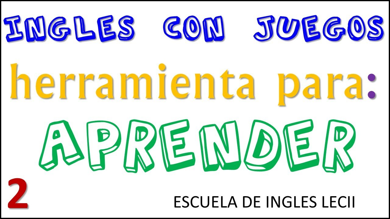 Excelente Juego Para Aprender Ingles Super Part 9 Youtube