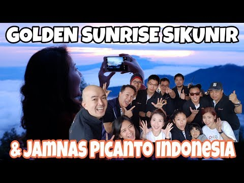 Golden Sunrise SIKUNIR and JamNas Picanto Indonesia ke DIENG - VLOG MYFUNFOODIARY