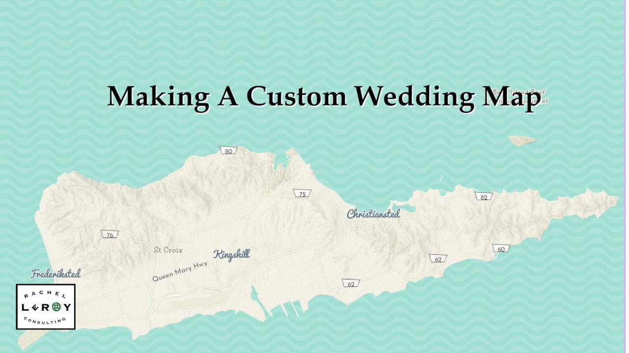 Behind The Scenes: Making Of A Custom Wedding Map