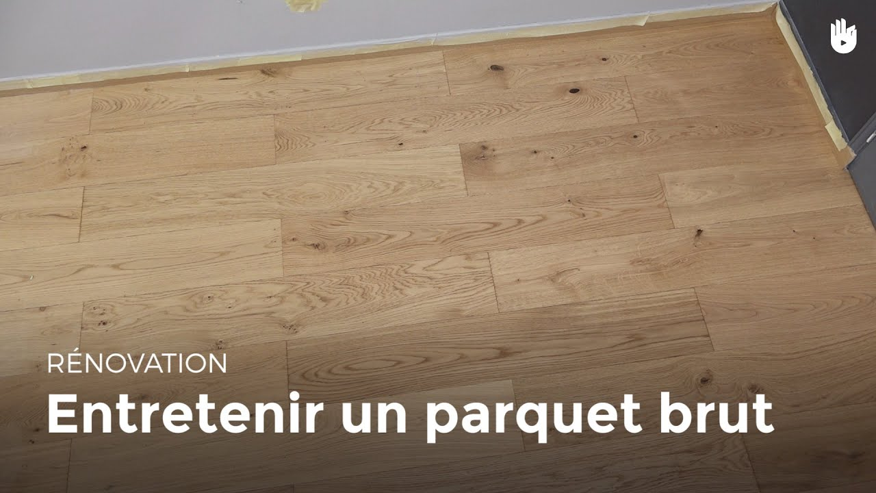 entretenir un parquet brut bricolage youtube. Black Bedroom Furniture Sets. Home Design Ideas