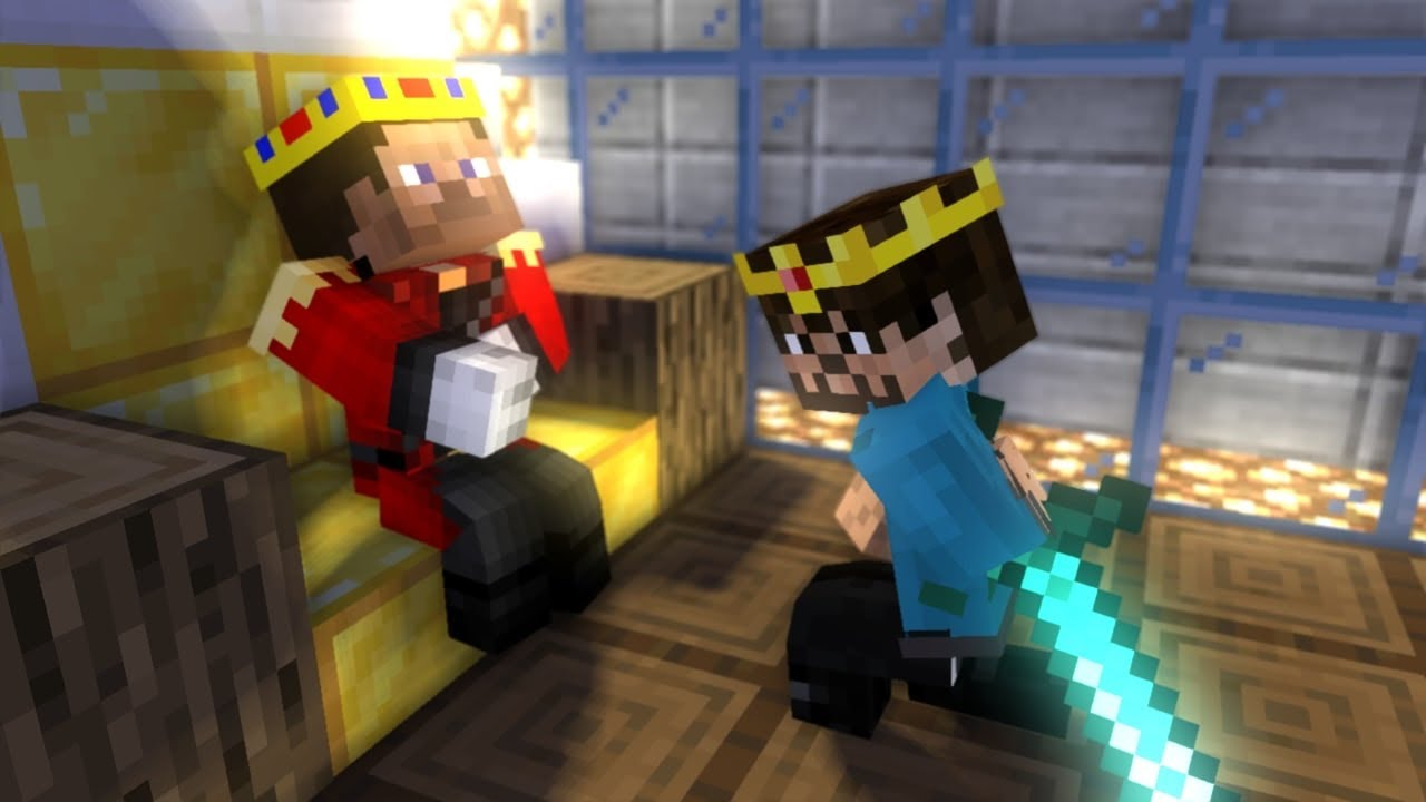 Monster School : Young Herobrine Becomes King - Minecraft Animation