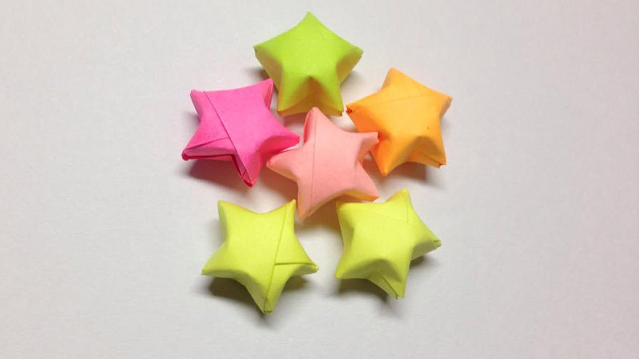 How to make a paper star | Easy origami stars for ... - photo#14