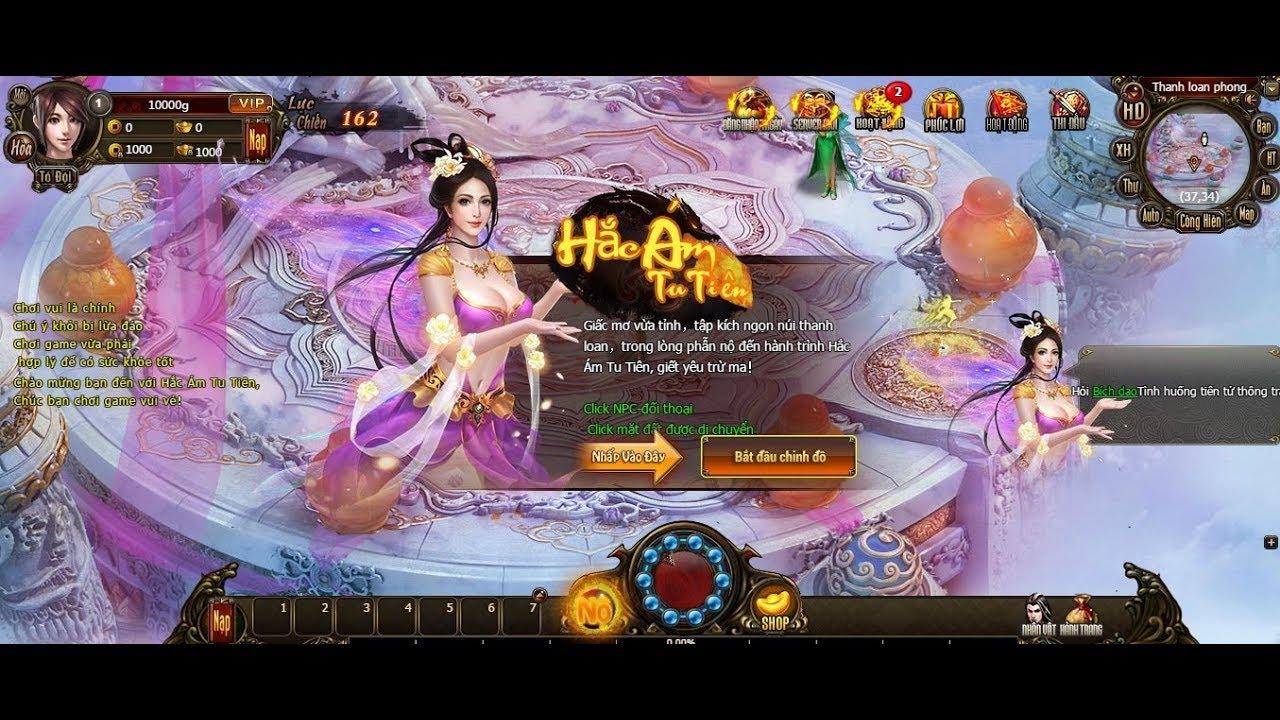 Webgame Offline VIỆT HÓA Ám Hắc Tru Tiên
