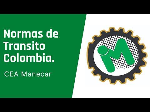 Normas de Transito Colombia