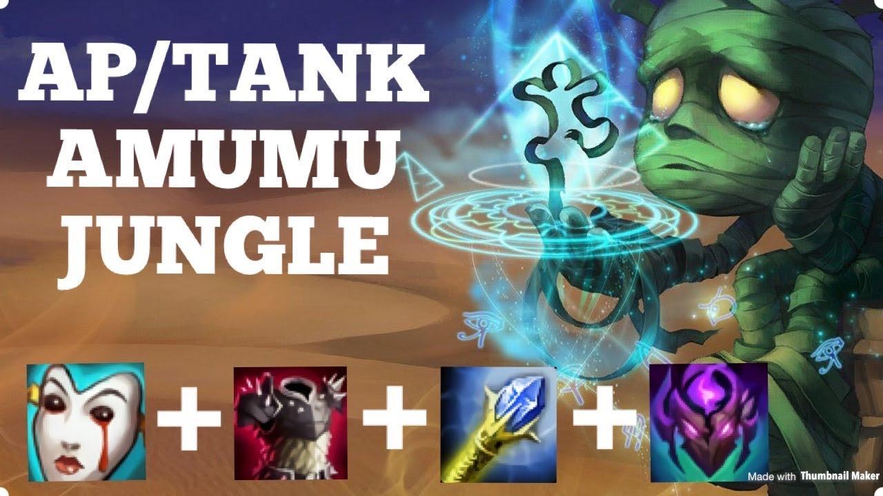 AFTERSHOCK AP/TANK AMUMU JUNGLE IS TOP TIER IN SILVER LEAGUE! Amumu Full  League Of Legends Gameplay!