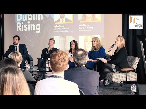 """Dublin Rising""  event organized by Women in Property & Construction Ireland."