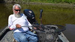 "Fishing the Mississippi for walleye with guide Dick ""the Griz"" Grzywinski"