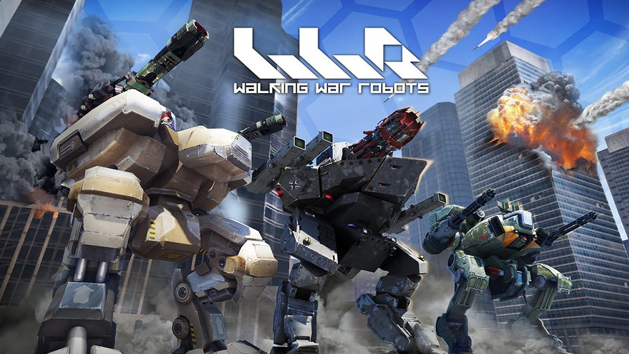 Walking war robots android gameplay trailer (1080p) youtube.