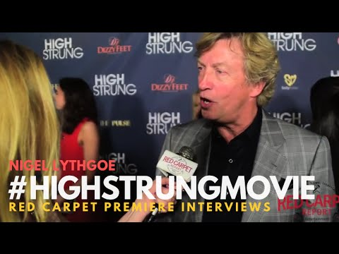 """Nigel Lythgoe #SYTYCD at the Red Carpet Premiere for """"High Strung"""" #HighStrungMovie"""
