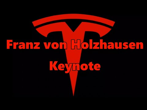 Tesla Franz Von Holzhausen Keynote Address 2017 Audio Only W/Subs