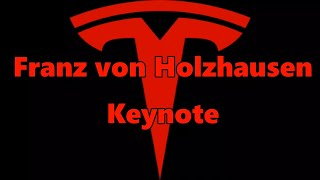 Tesla Franz Von Holzhausen Keynote Address 2017 -------------------...