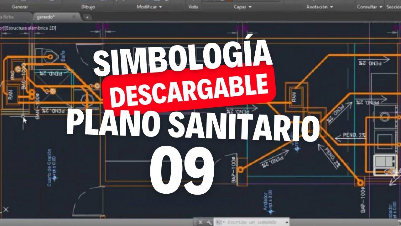 Plano de instalaciones sanitarias planta baja y altaIS11  YouTube
