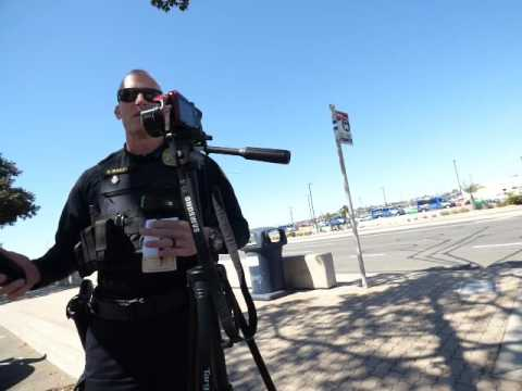 """U.S. Coast Guard says """" YOU NEED TO STOP FILMING, COP TRIES TO ID AND FAILS: 1st Amend Audit"""