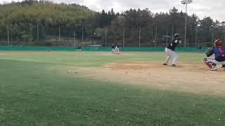 20.11.21. 위닝샷 연습경기 #1타점 적시타 #포…