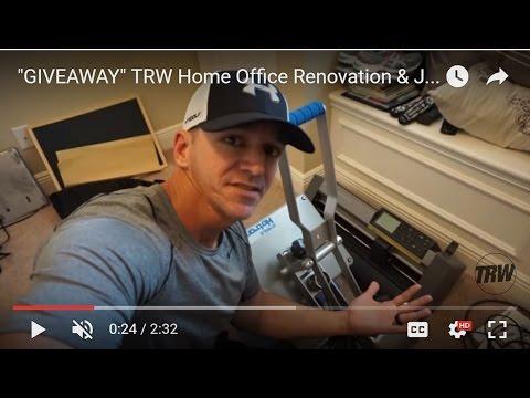 """GIVEAWAY"" TRW Home Office Renovation & J America Hoodie Giveaway"