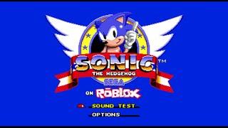 Sonic The Hedgehog: Roblox Version (fr) Test Alpha!