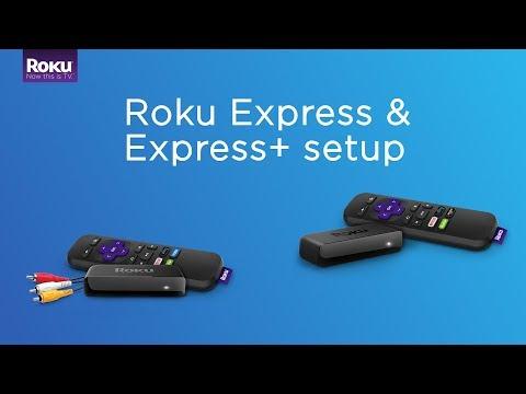 How to set up the Roku Express/Express+ (Model 3900/3910)