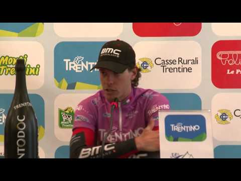 Giro del Trentino 2014: Daniel Oss' press conference after stage1 (TTT)